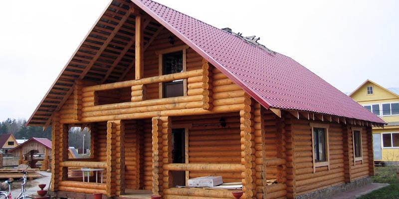Готовый рубленный дом