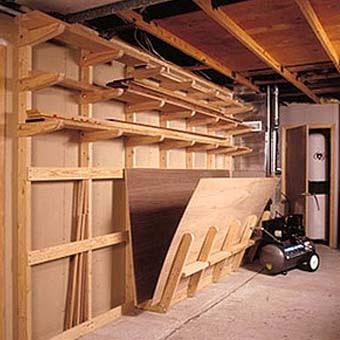 Грамотное оборудование гаража позволит избежать его захламления