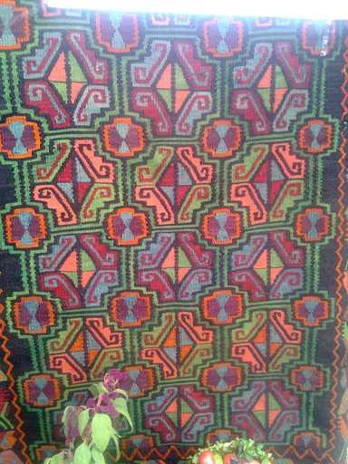 """Самыми известными считаются ковры под названием """"пардаги"""", которые вешаются на стену"""