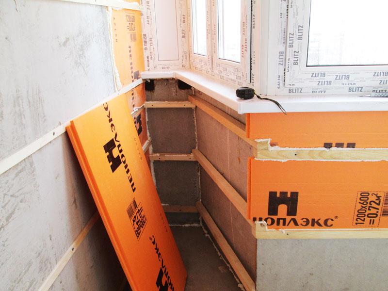 Влагостойкий материал для утепления балкона защитит от сырости