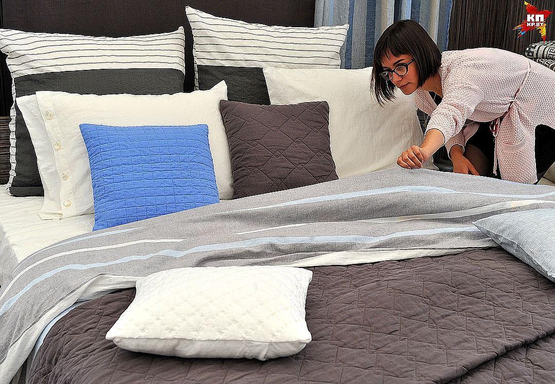 Как вы застилаете кровать?