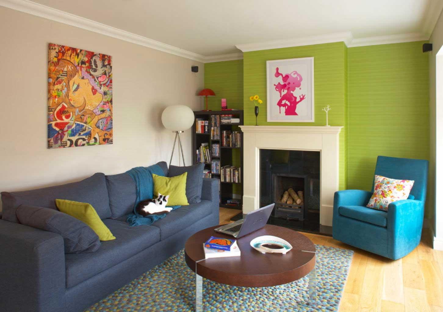 Выбор цвета не только стен или пола, но и мебели очень важен для маленькой комнаты