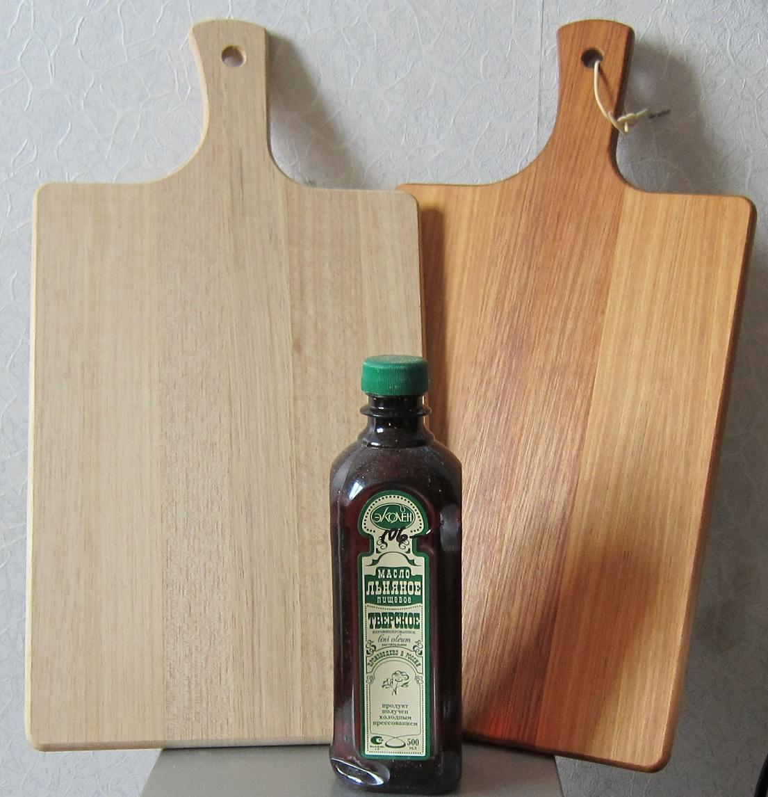 Льняное масло для разделочной доски