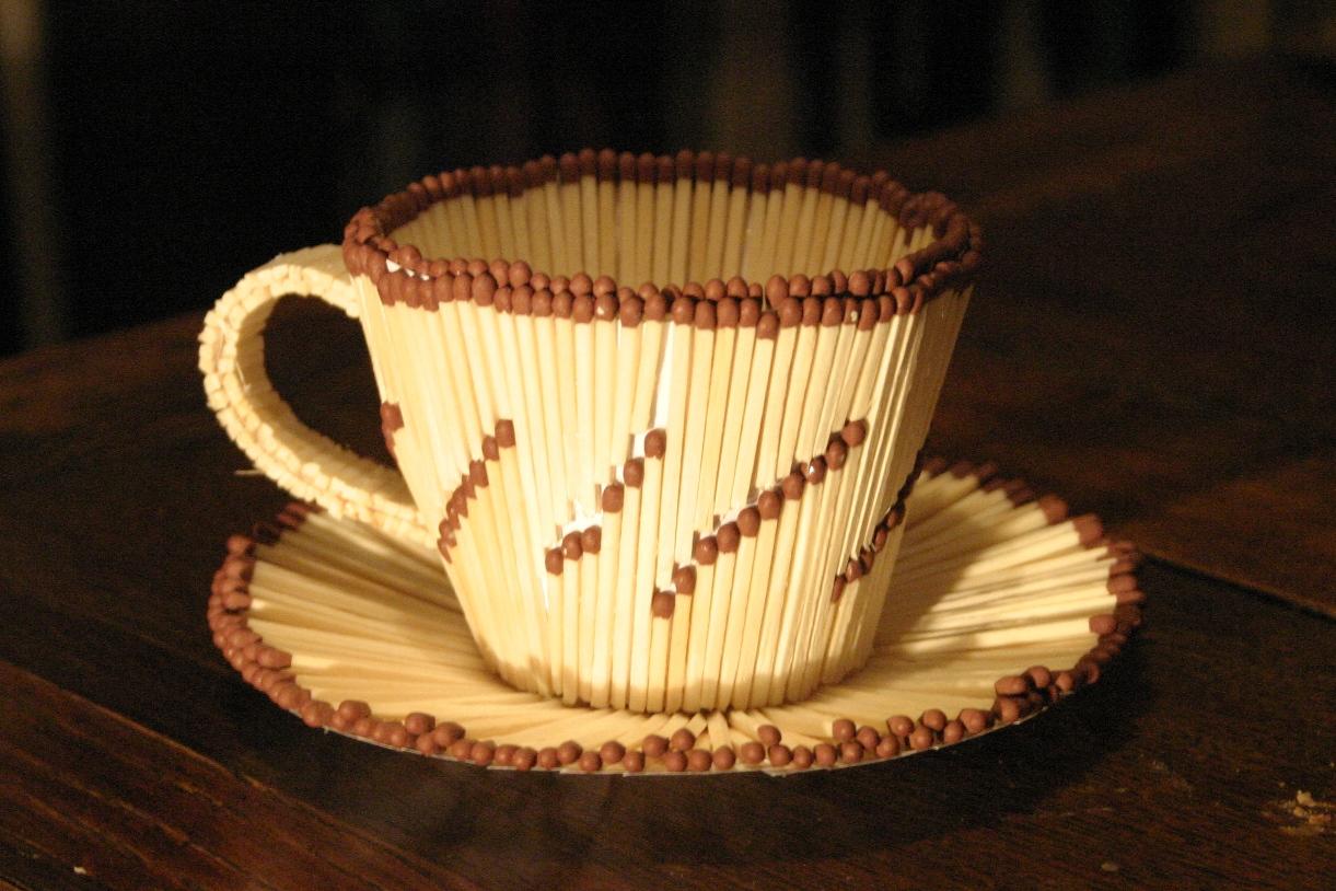 Фото зима чашка чая с паром вот время
