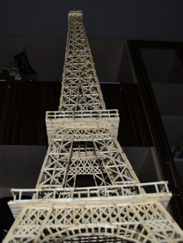 Самая высокая башня в мире и самая необычная башня из спичек