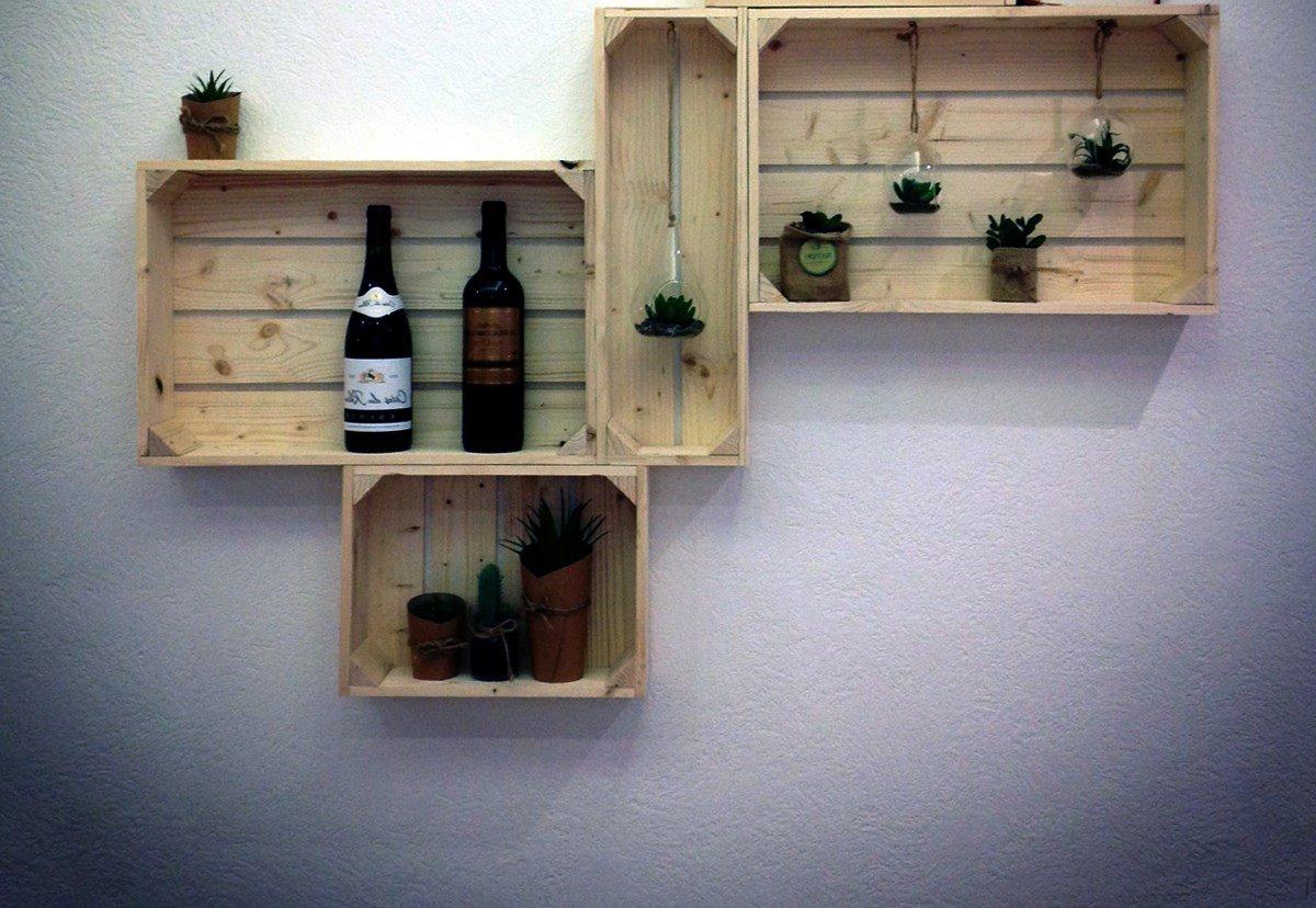 Деревянный ящик на стену рэйон