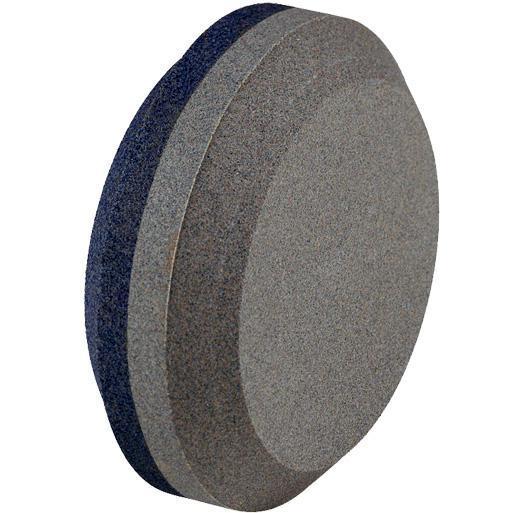 Лучше всего для заточки брать круглый точильный камень