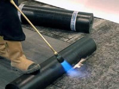 Использование газовой горелки.