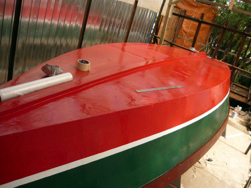 Покраска лодок своими руками видео