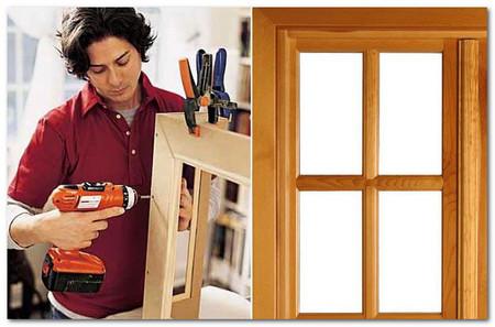 Изготовление деревянного окна