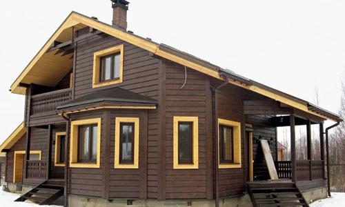 Качественно утеплённый дом из бруса