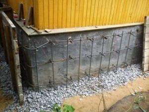 Ремонт фундамента кирпичного дома 133