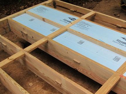 Как проводить утепление пола пеноплексом в деревянном доме