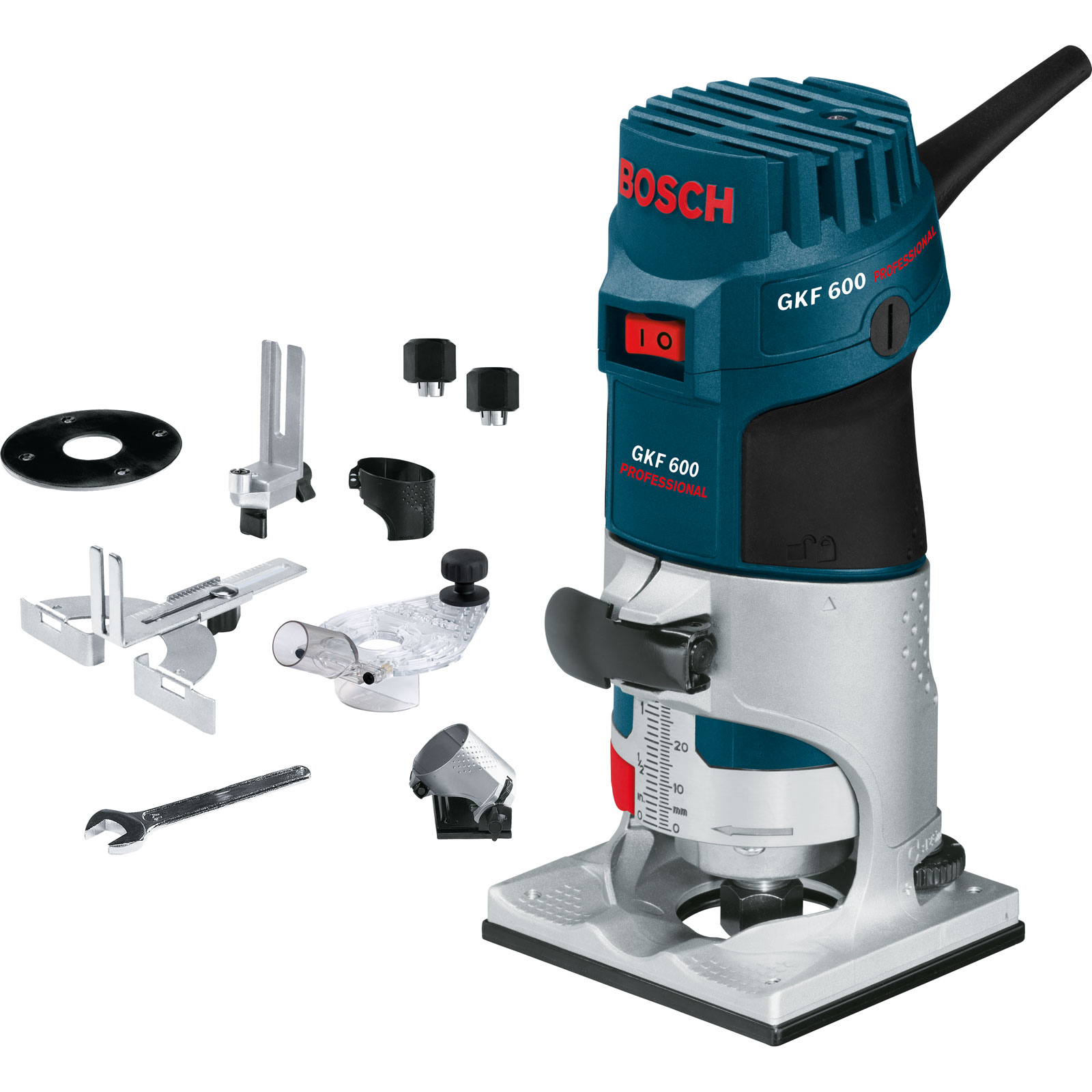 Компания Bosh использует для маркировки профессионального инструмента синий цвет, бытового - зеленый.