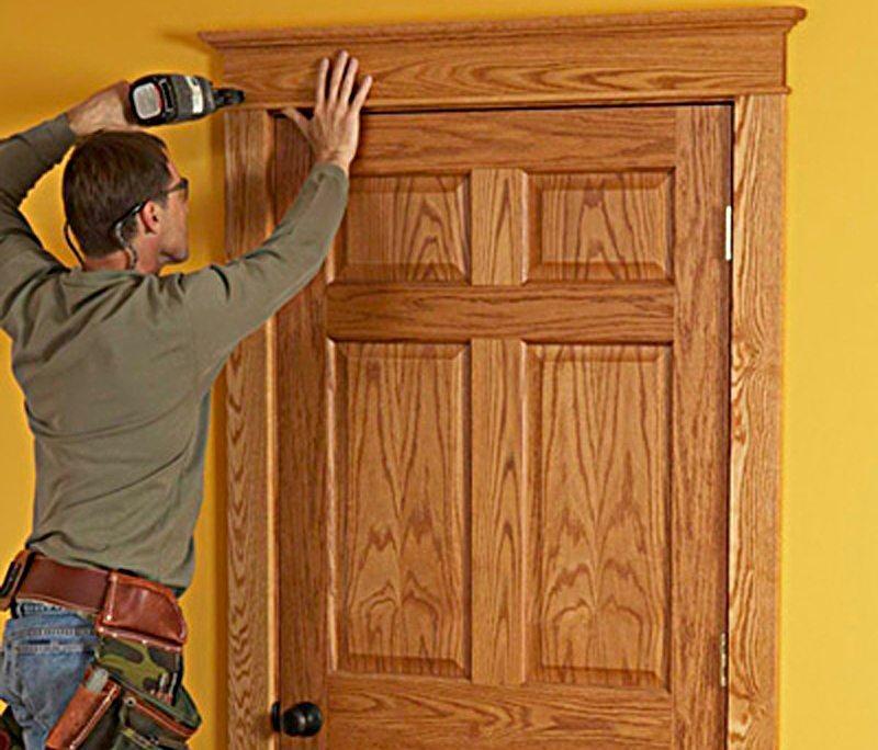 Как самостоятельно сделать дверь фото 33