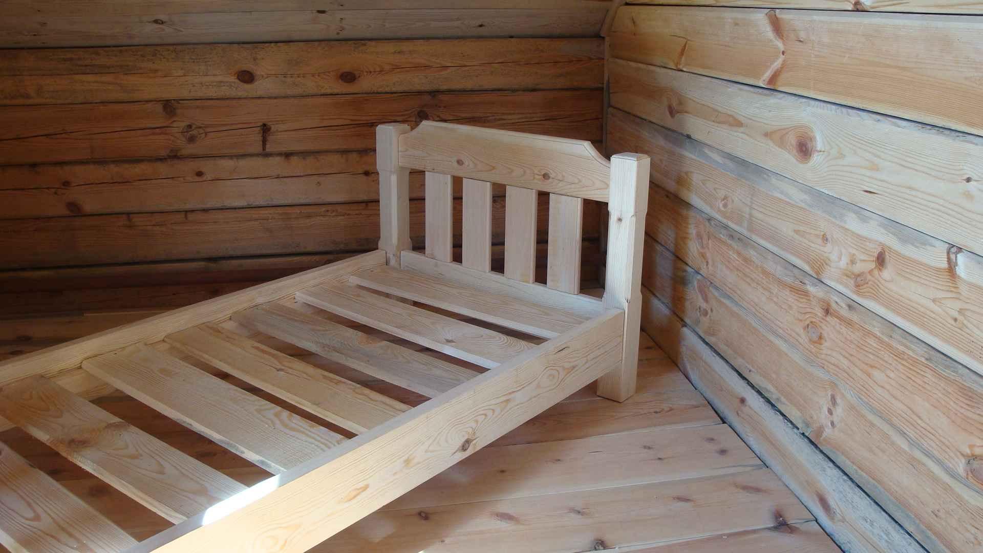 кровать из дерева своими руками чертежи двухъярусной модели дизайн