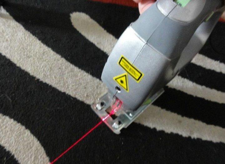 Лазерный луч повышает точность реза заготовки