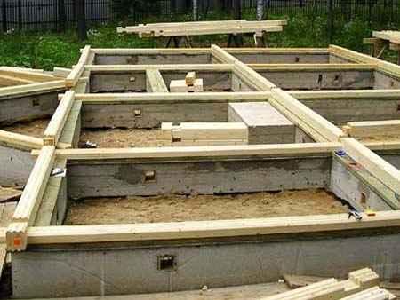 Ленточный фундамент обладает достаточной прочностью и для 2-этажного дома