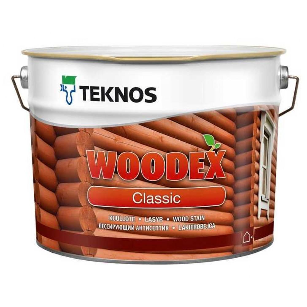 Лессирующая пропитка WOODEX CLASSIC ОТ TEKNOS