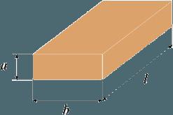 Линейные параметры доски