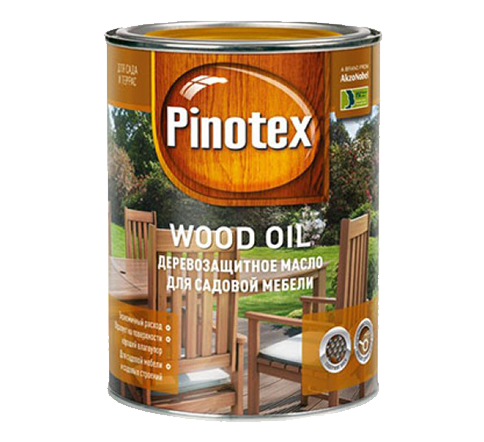 Масло PINOTEX WOOD OIL (матовое)