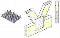 Металлическая пластины для узлов