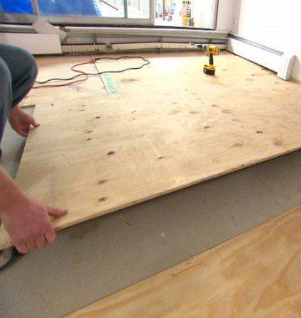 Монтаж древесно-слоистых плит своими руками