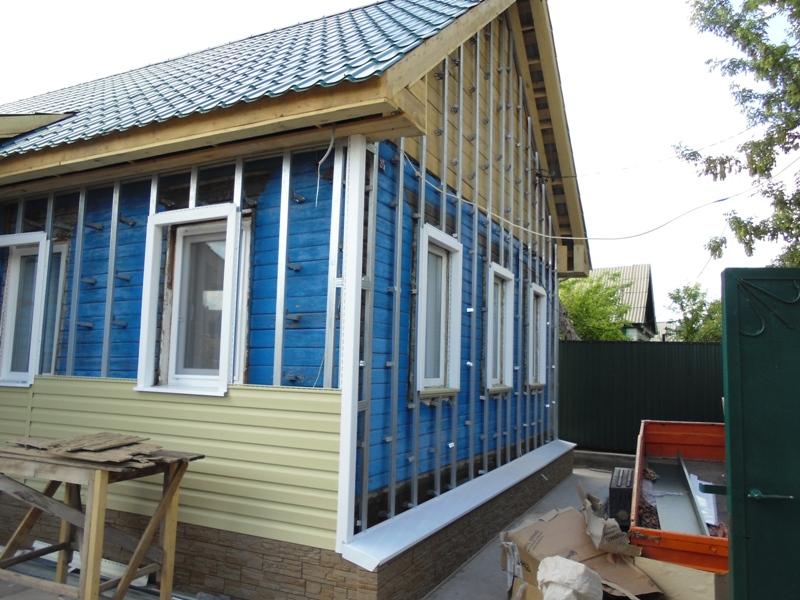 Как обшить деревянный дом сайдингом своими руками фото 283