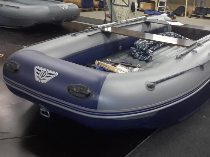 Можно подобрать элемент в цвет лодки