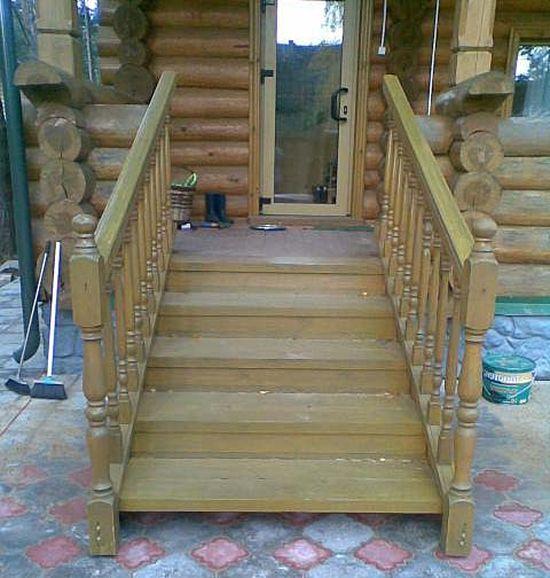 Деревянное крыльцо к дому своими руками фото 135