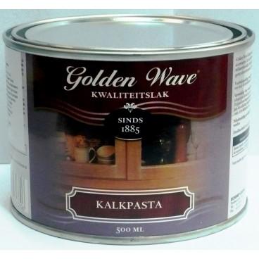 На фото – для создания эффекта выбеленной состарившейся мебели используйте калькпасту Golden Wave