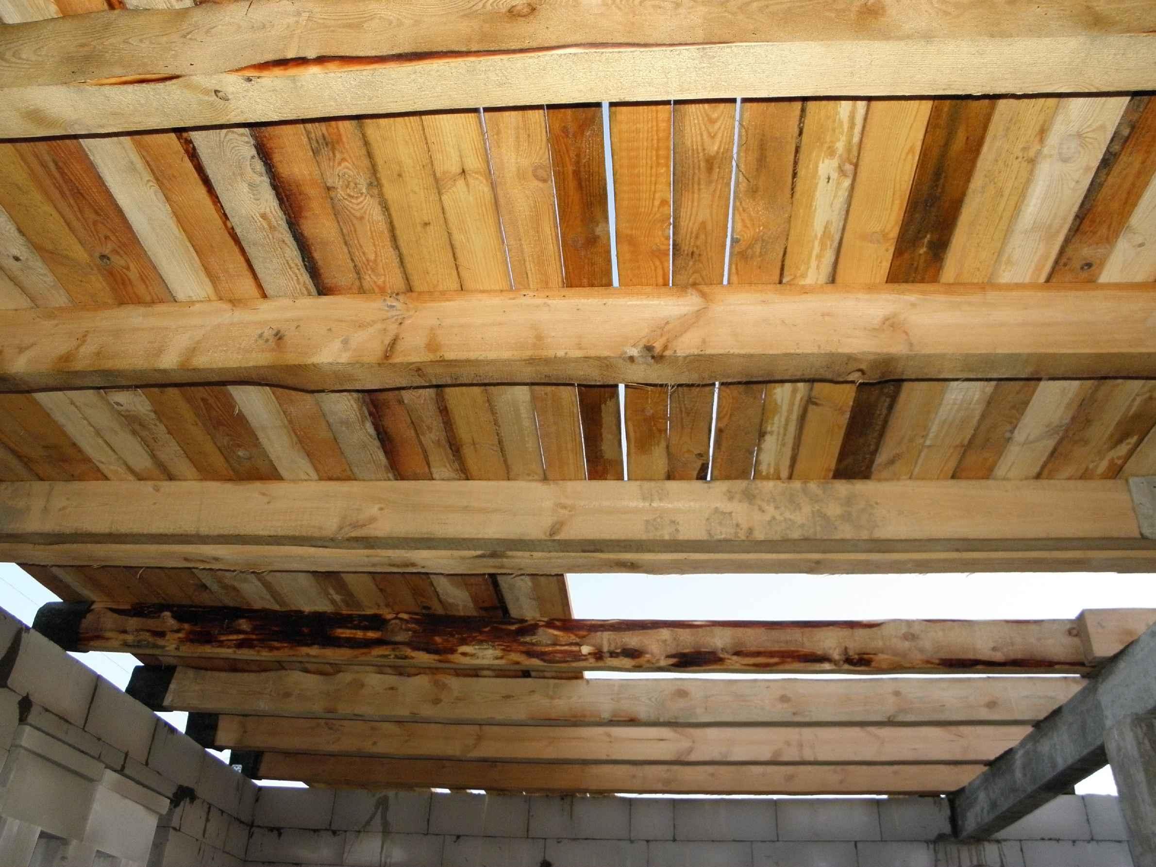 деревянные перекрытия как лучше сделать