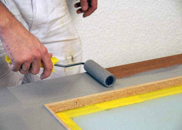 Валик для покраски пола эмалью гидрофобизатор для ценментной песчаной стяжки
