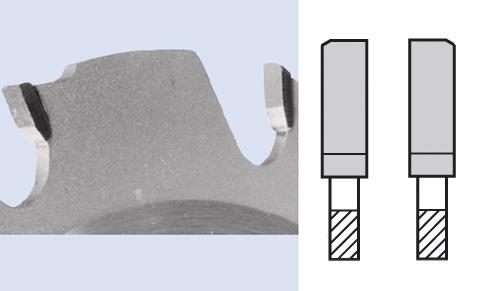 На фото – режущая часть твердосплавного диска