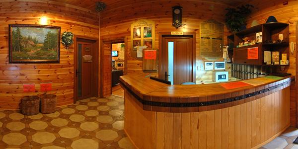 На фото фрагмент банного комплекса класса люкс