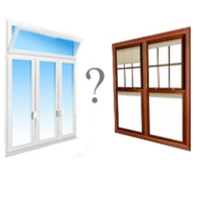 На фото: на вопрос,что лучше деревянные или пластиковые окна, нет однозначного ответа, большую роль играют различные нюансы