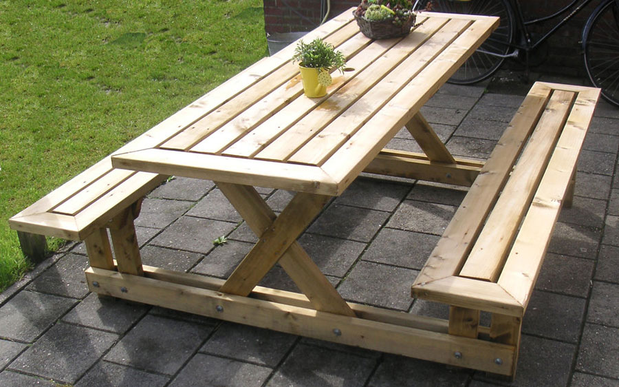 Схема сборки садовой мебели своими руками 497