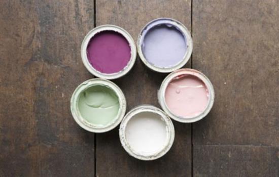 Набор красок для деревянного пола