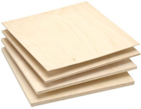 Нам понадобятся несколько листов фанеры разной толщины