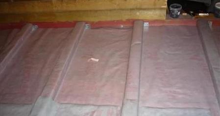 Необходимая пароизоляция пола первого этажа в деревянном доме