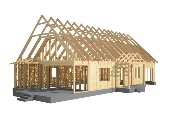 деревянный каркас для дома своими руками видео инструкция