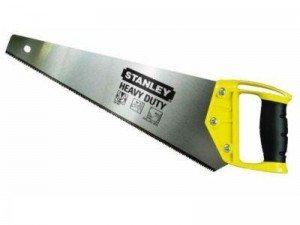 Ножовка с закаленной кромкой.