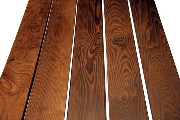 Обработанная термическим способом древесина