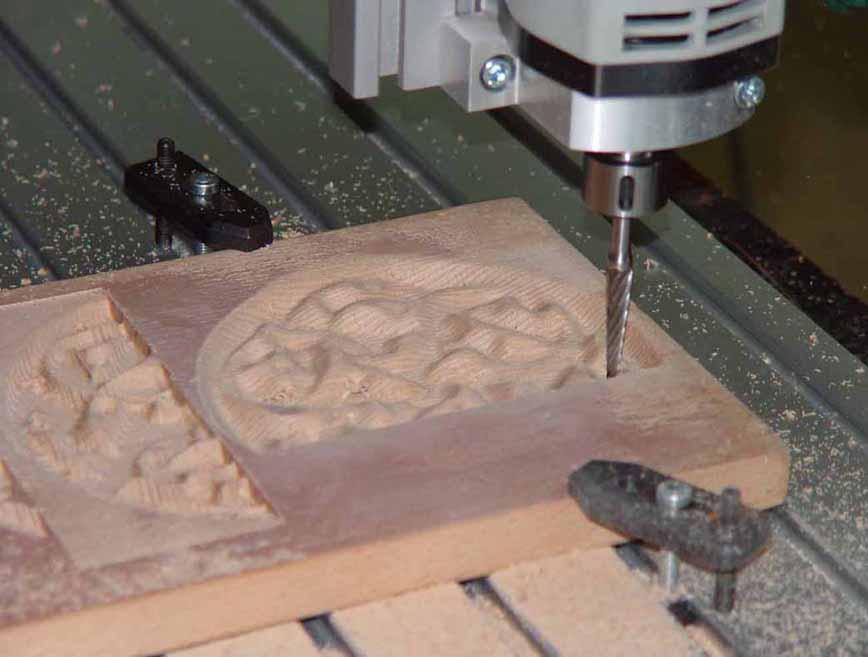 Обработка древесины на фрезерном станке с ЧПУ