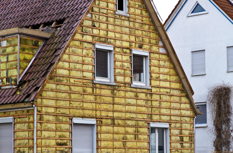 Обрешетка позволяет создать основание для фасада и зафиксировать утеплитель