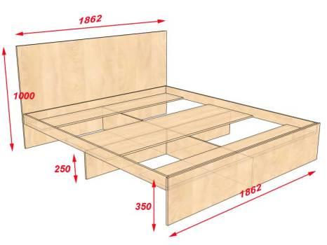 Сделать кровать с подъемным механизмом своими руками фото 547