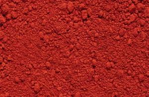 Оксид железа даст яркий рыжий цвет древесины