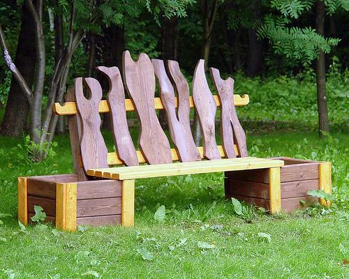 Деревянные скамейки своими руками фото чертежи фото 153