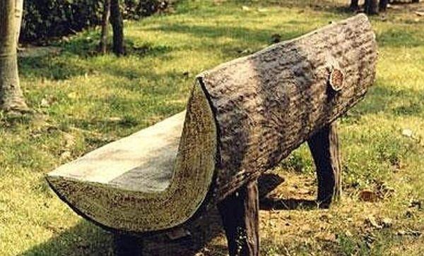 Оригинальная скамья