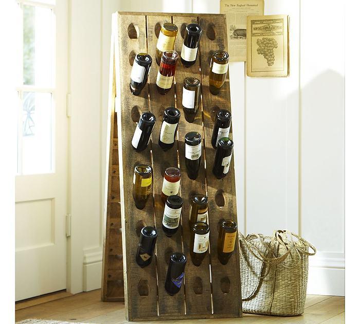 Оригинальная винная подставка.